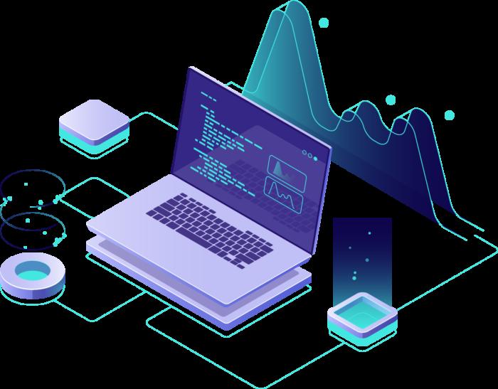 Laptop met data